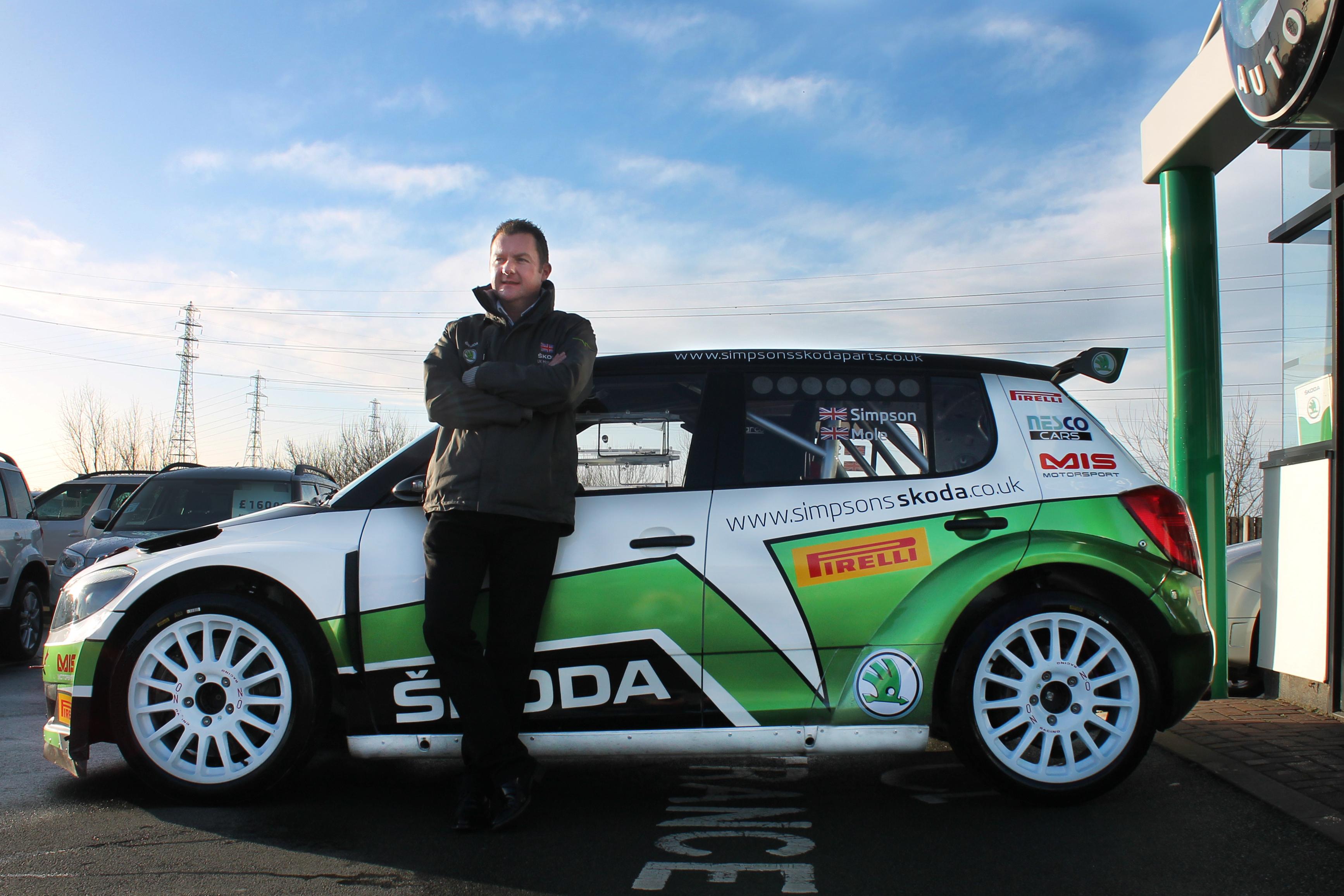 Neil Simpson Skoda S2000